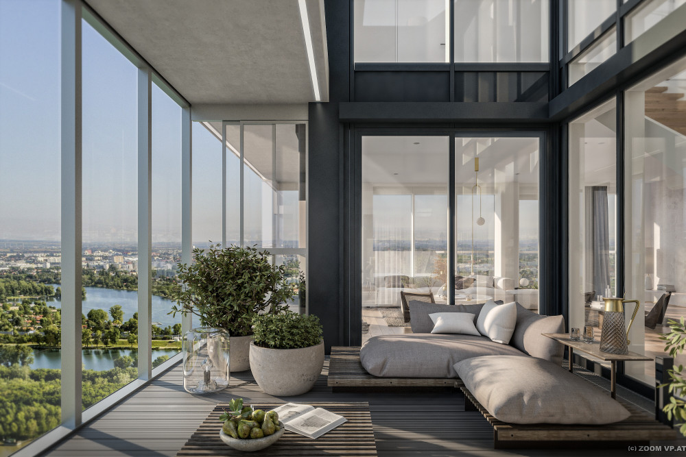Vertriebsstart für Penthouse-Wohnungen im MARINA TOWER