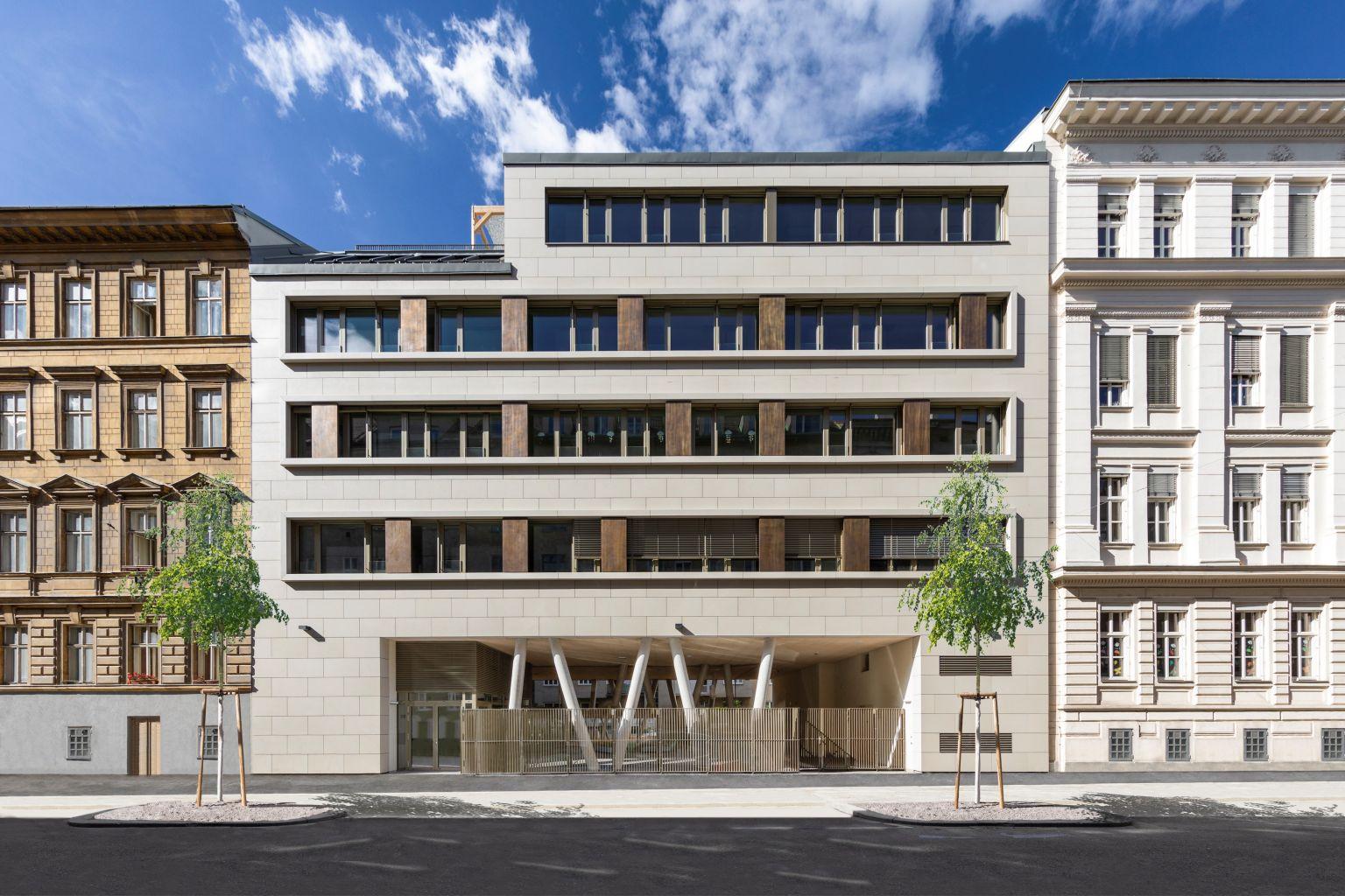 BigSEE Architecture Award für Schulerweiterung Novaragasse