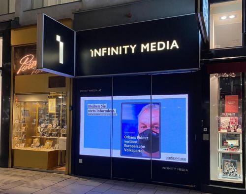 Colliers vermittelt Infinity Media Pop-up