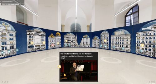 Wiener Wollzeile wird zum 3D Erlebnis