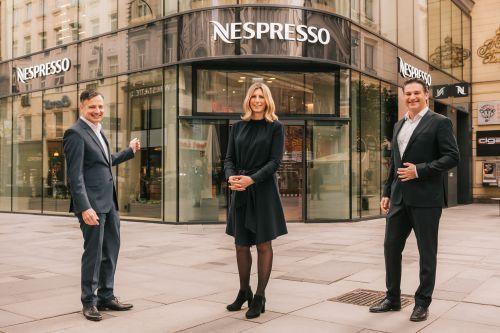NESPRESSO Atelier Wien eröffnet auf der Kärntner Straße