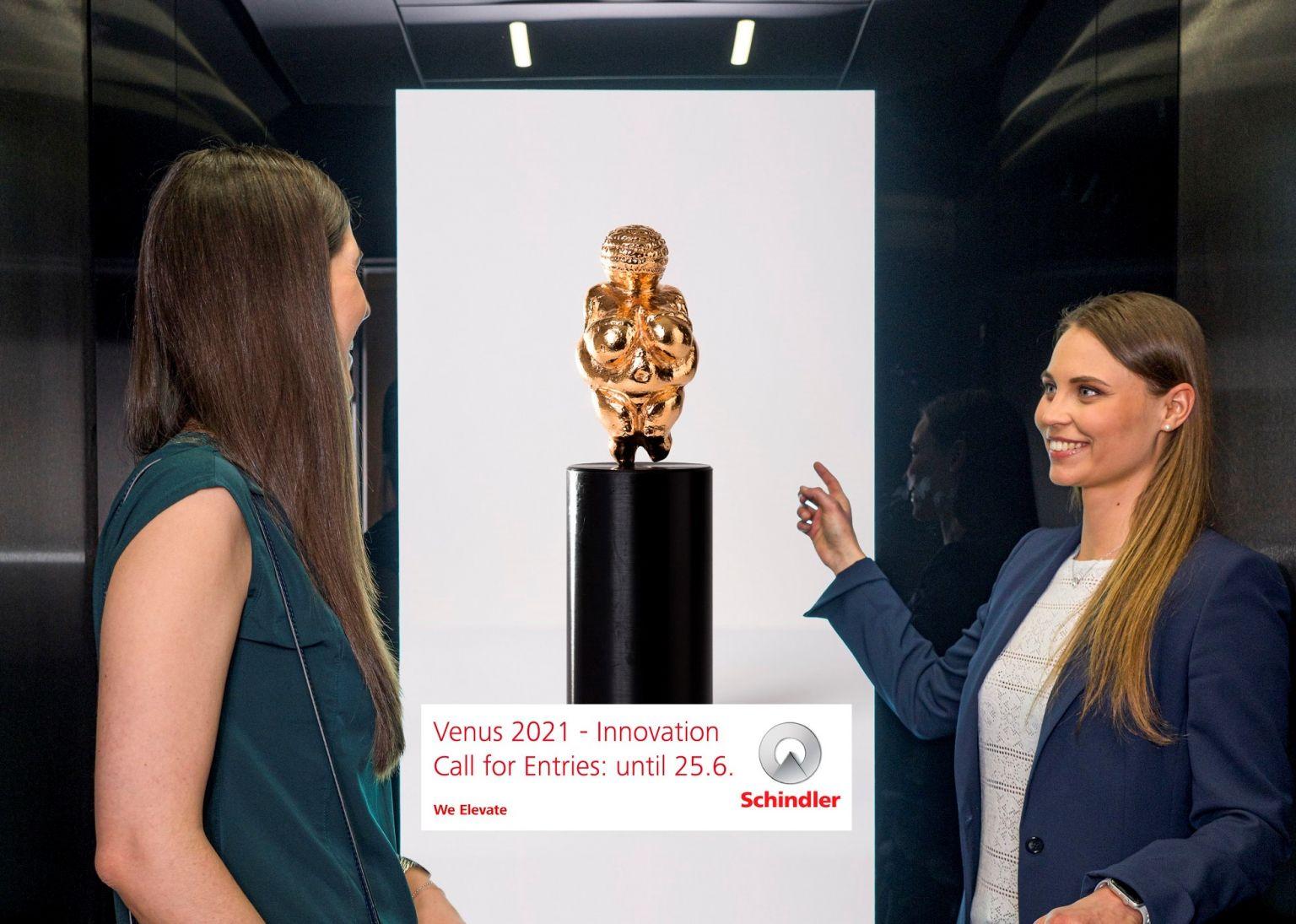 Schindler sponsort CCA-Venus 2021