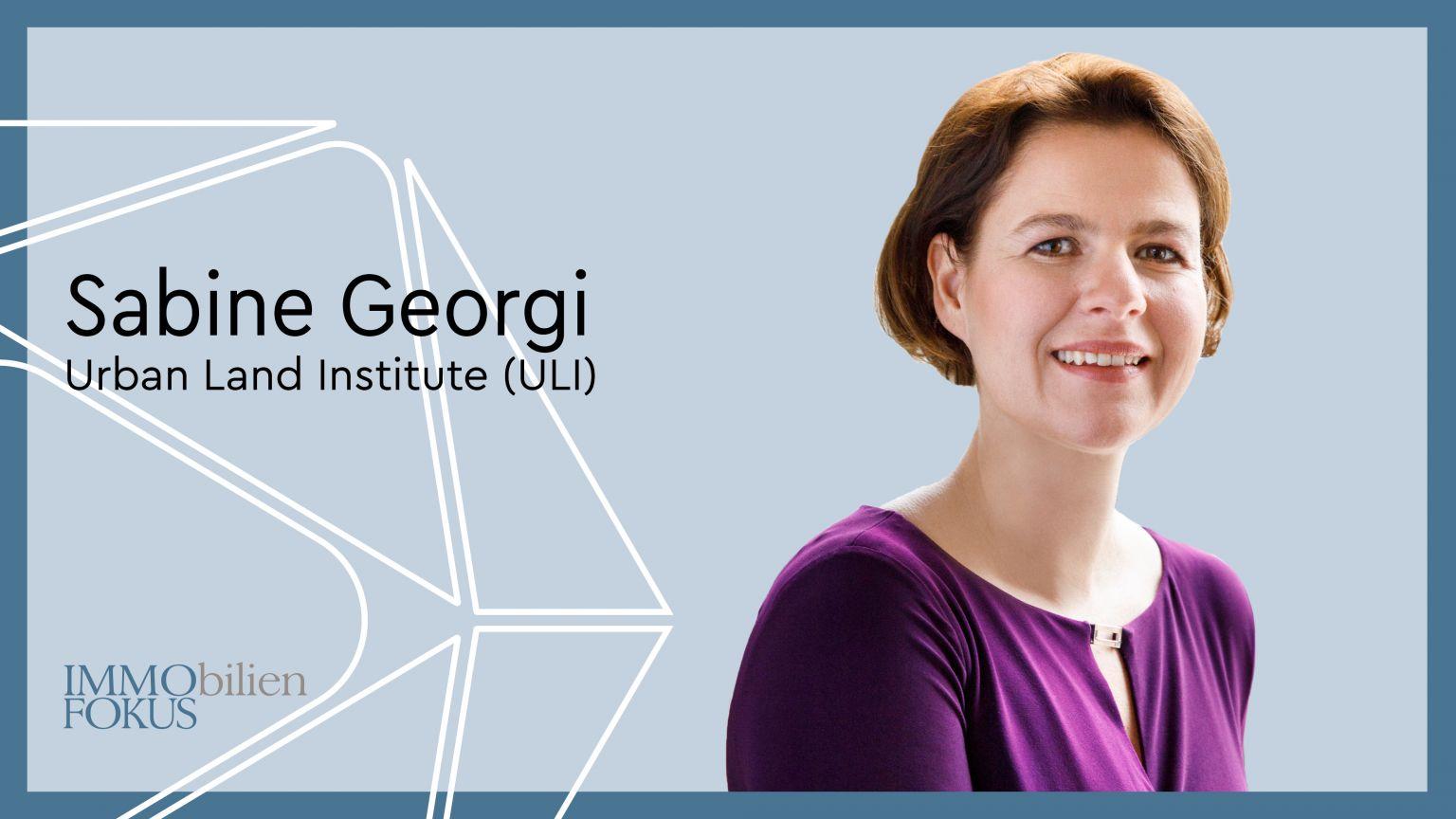Sabine Georgi wird neue Geschäftsführerin des ULI