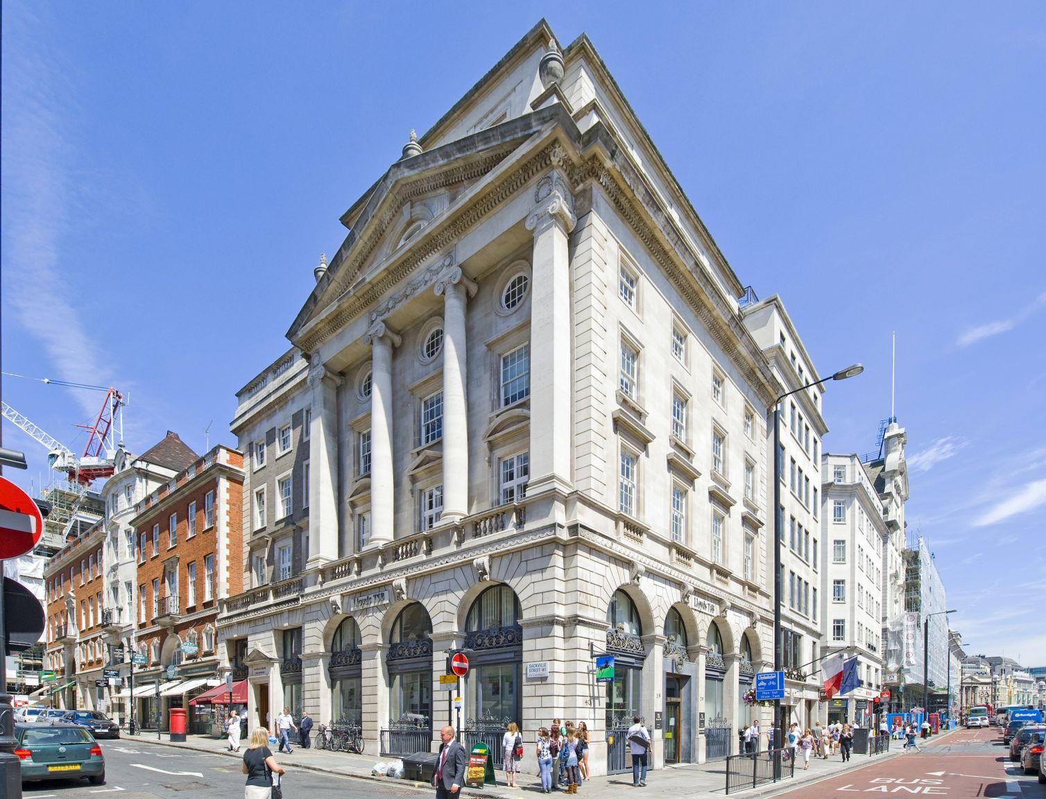 Art-Invest Real Estate erwirbt Sackville House in London