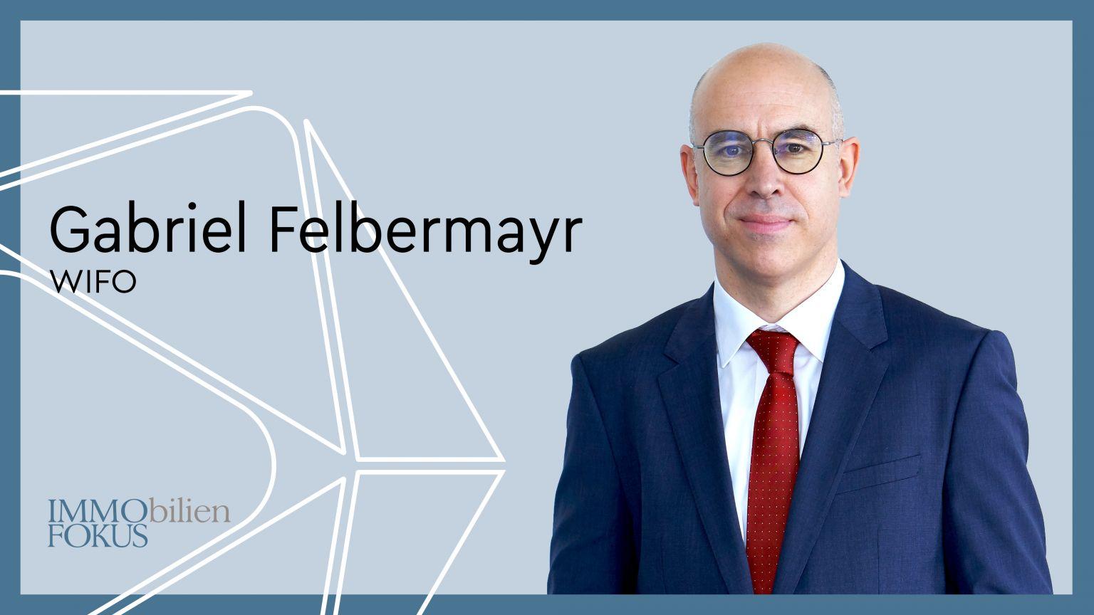 Gabriel Felbermayr ist ab 1. Oktober 2021 neuer  WIFO-Leiter