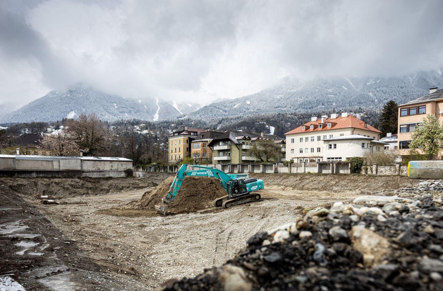 Baustart für Sicherheitszentrum in Tirol