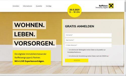 Raiffeisen startet ImmoDay digital