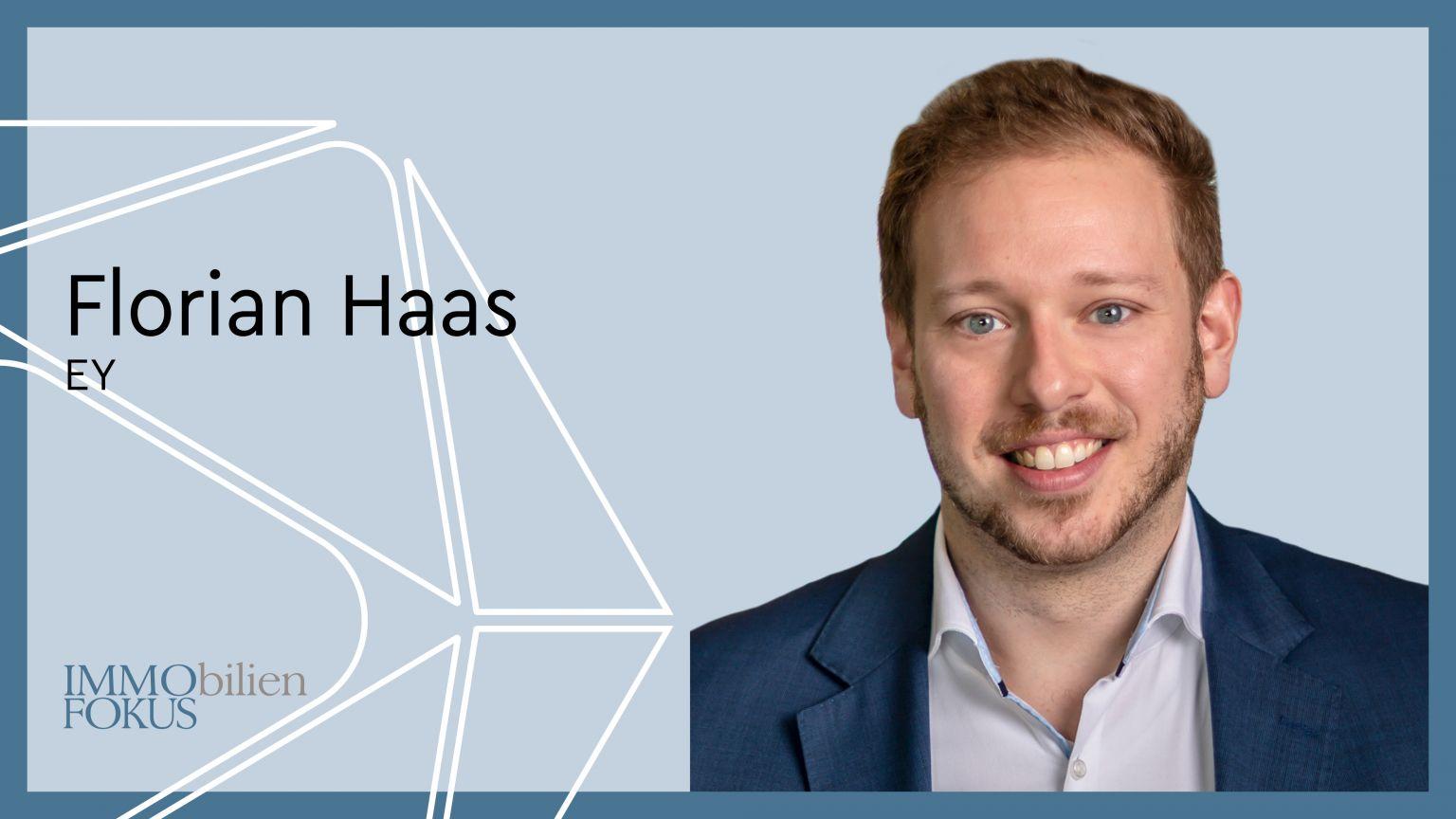 Florian Haas übernimmt die Leitung des EY-Start-up-Ökosystems