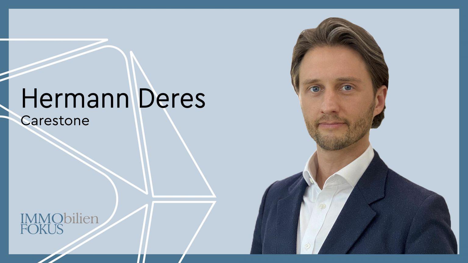 Hermann Deres ist neuer CFO der Carestone Gruppe
