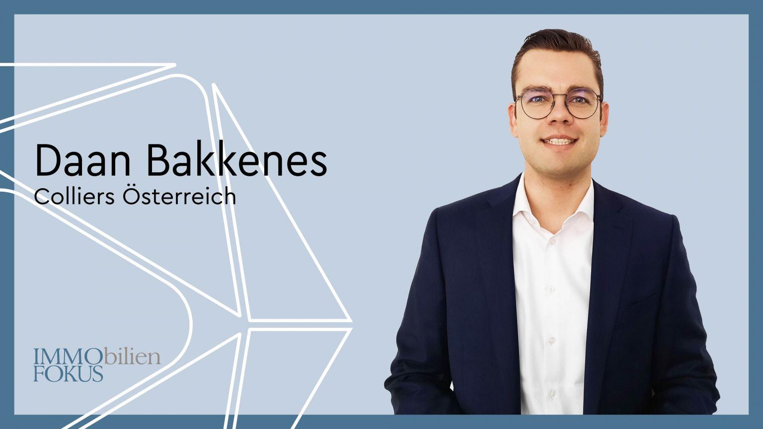Daan Bakkenes ist neuer Head of Hotels bei Colliers