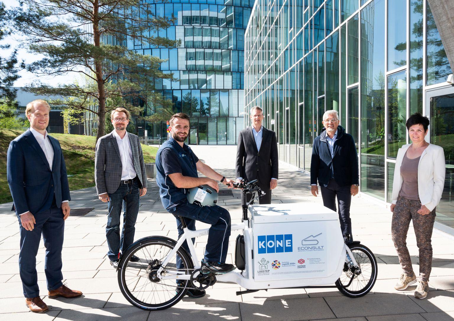 KONE und ECONSULT starten Pilotprojekt in Wien