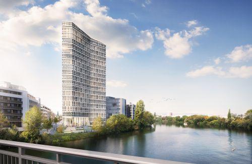 WAYV - Riverside Office Tower von Eyemaxx erhält Baugenehmigung