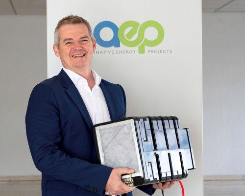 aep energy bringt intelligentes Wasserstoff-Batteriesystem