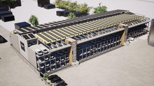 GO ASSET entwickelt nachhaltiges Parkhaus