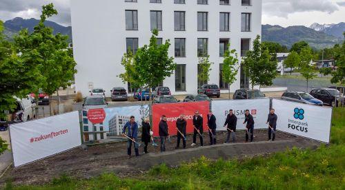 PRISMA feiert Spatenstich des InterTwins in Vorarlberg