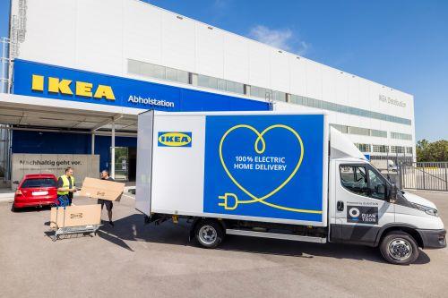 Ikea geht mit einer eigenen Elektrofahrzeugflotte an den Start