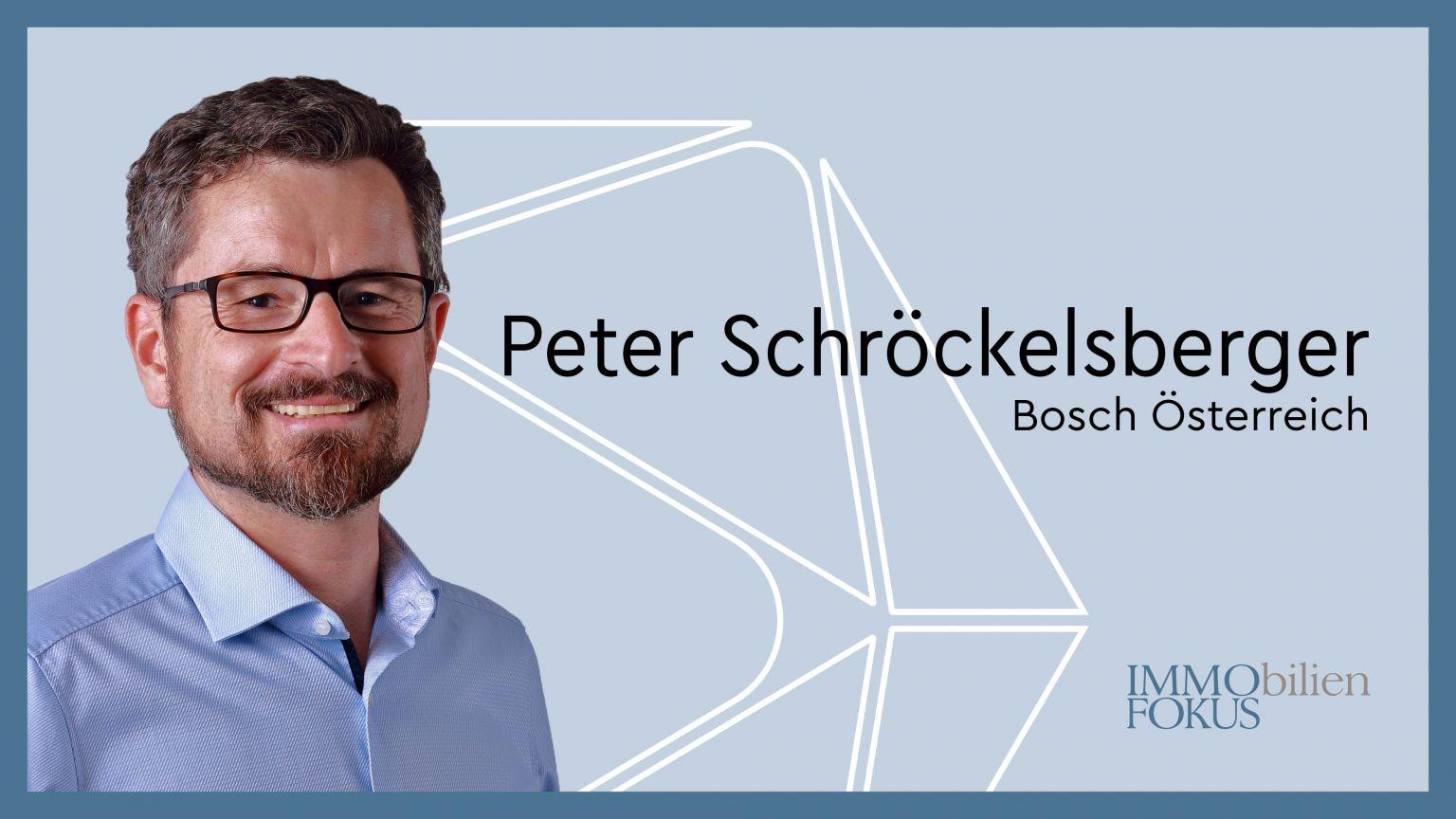 Peter Schröckelsberger ist neuer Personalleiter Bosch Österreich