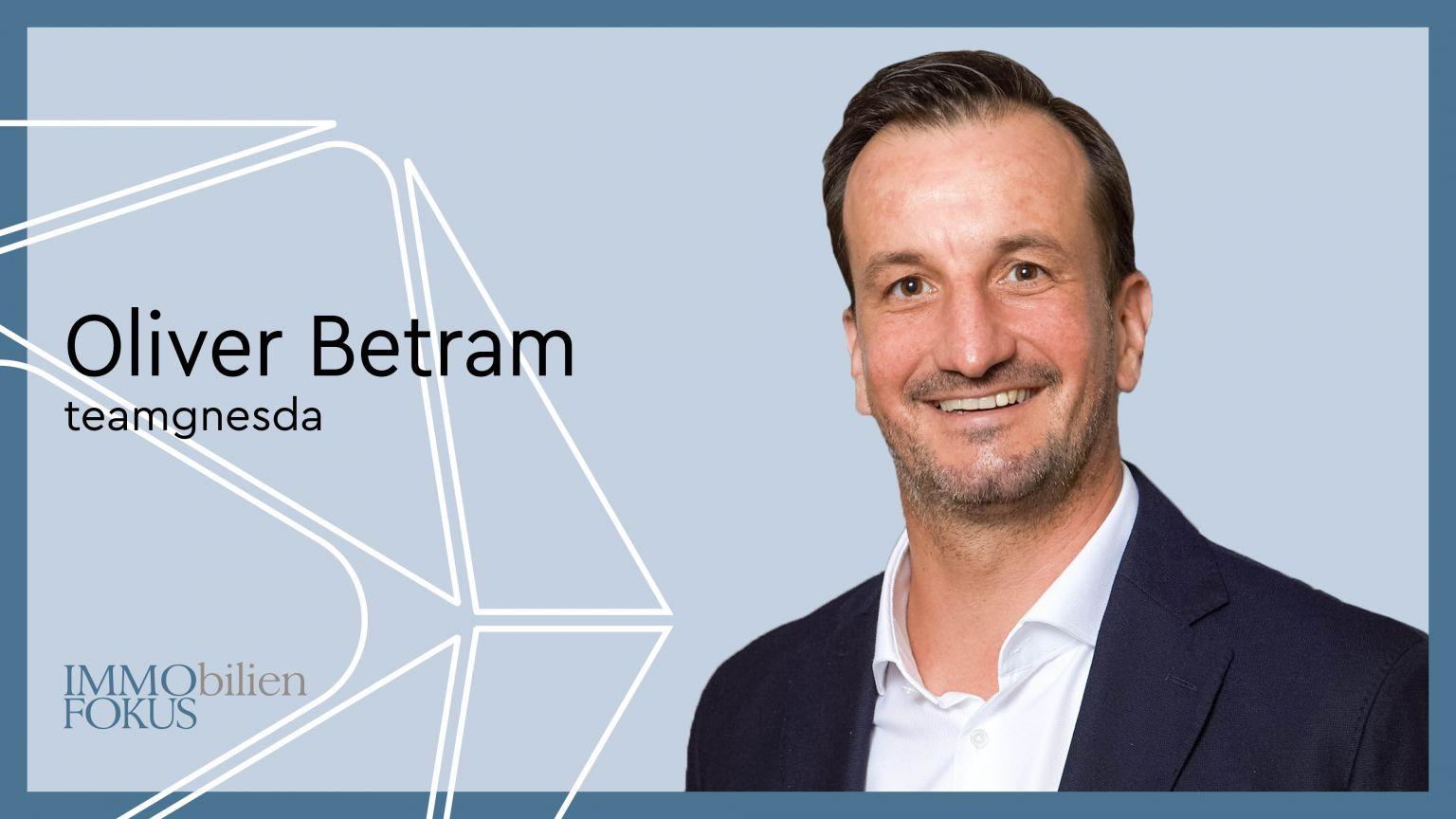 Oliver Bertram ist neuer Geschäftsführer von teamgnesda
