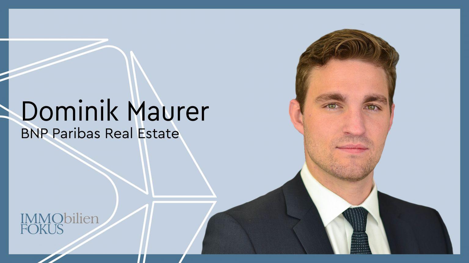 Neuer Abteilungsleiter für das Stuttgarter Investment-Team von BNP Paribas Real Estate