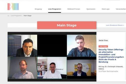Die blockchain-REAL geht online über die Bühne