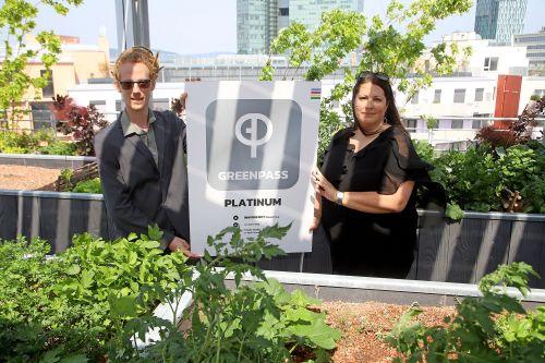 Auszeichnung für Biotope City Wienerberg