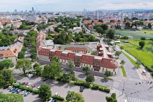 """BUWOG-Wohnprojekt """"Schöneck 13"""" feiert Dachgleiche"""