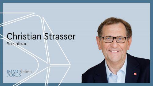 Christian Strasser wird 2022 Generaldirektor der Sozialbau