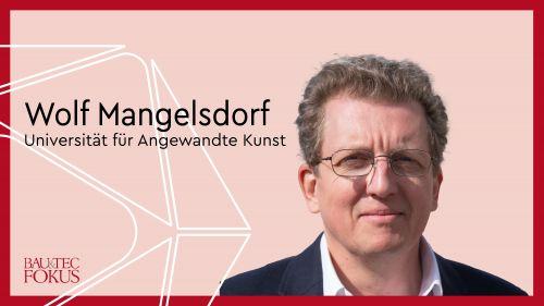 Wolf Mangelsdorf ist neuer Professor für Structural Design am Institut für Architektur