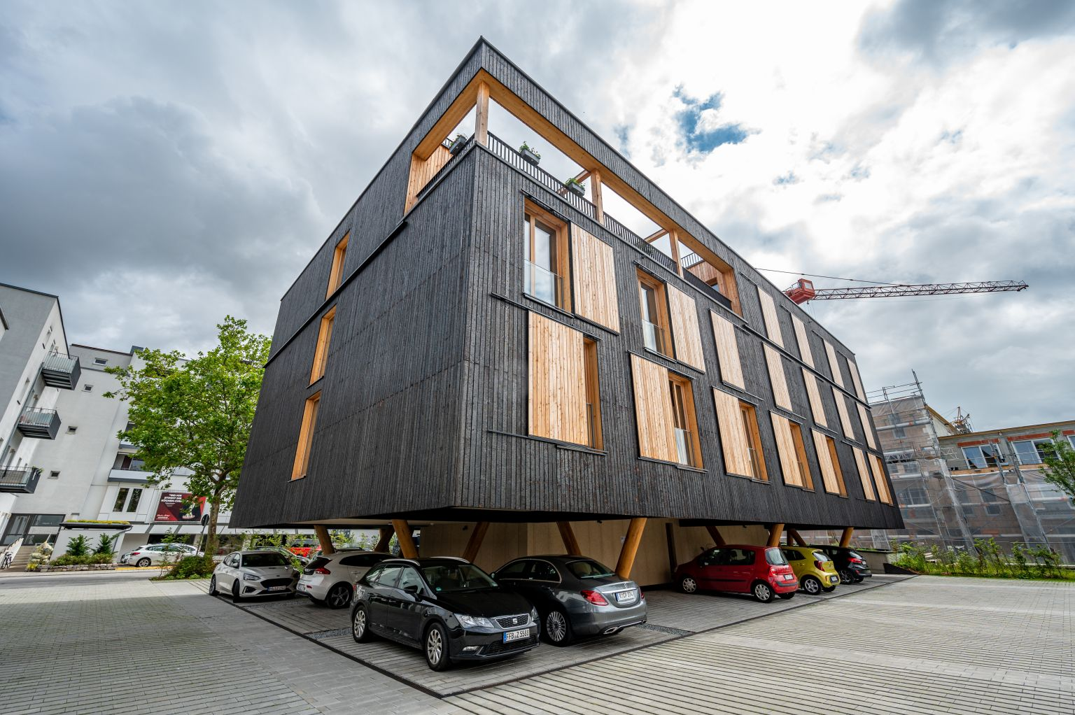 Bayerische Staatsforsten eröffnen ökologischen Wohnbau