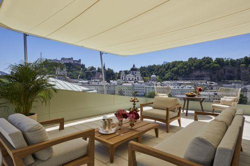 Sky Suite im Sacher Salzburg feiert Eröffnung