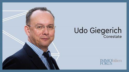 Udo Giegerich wird neuer CFO von Corestate