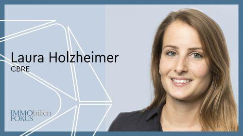 Laura Holzheimer ist neuer Head of Research bei CBRE
