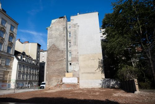 Baubeginn für das Neubauprojekt in der Wiener Preßgasse