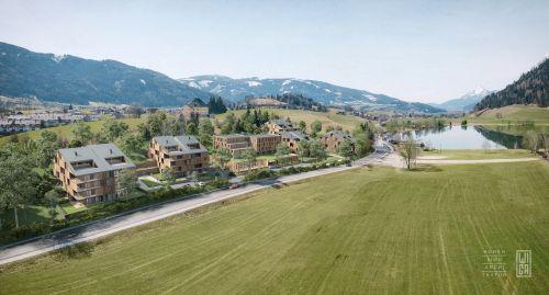 """WIGA plant Vorzeigeprojekt """"Wohnen am See"""" in Aigen im Ennstal"""
