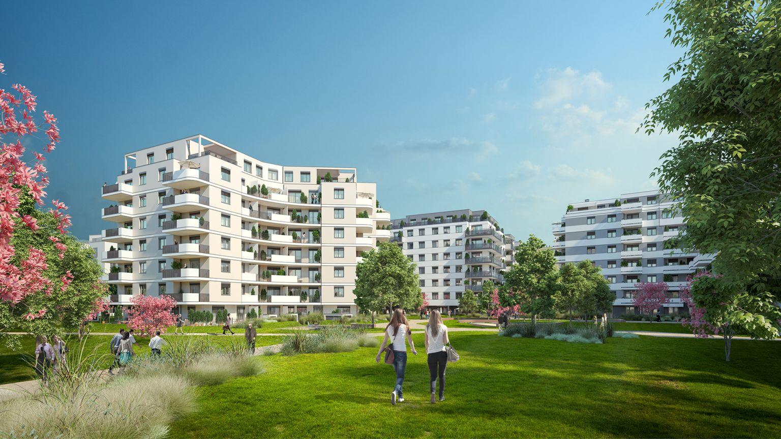 """ZIMA Wien Projekt """"Kirschblüte"""": Alle 370 Wohnungen verkauft"""
