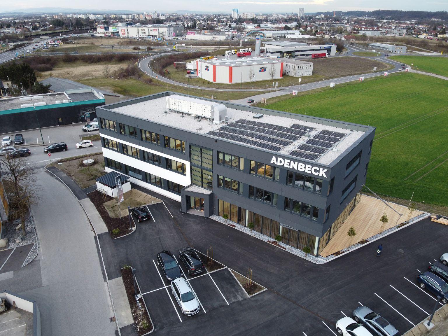 Zukunftstechnologien im eigenen Bürogebäude