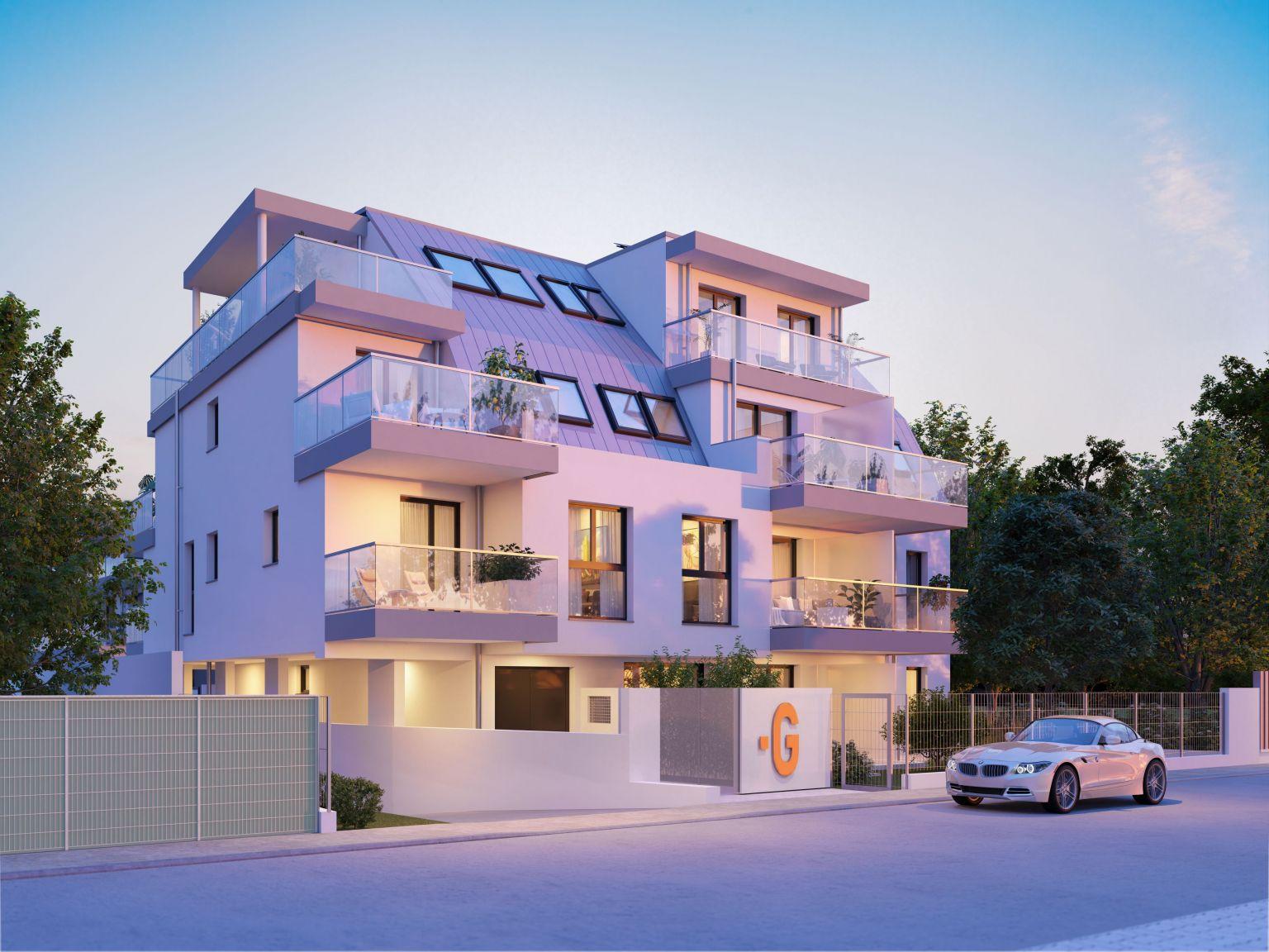 Glorit-Wohnprojekt in Aspern feiert Dachgleiche