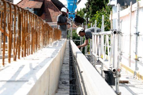 Erste Wohnhausaufstockung per 3D-Betondruck-Technologie