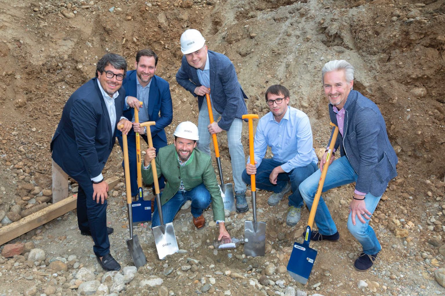 Grundsteinlegung für Mehrfamilienhaus in Eggenberg