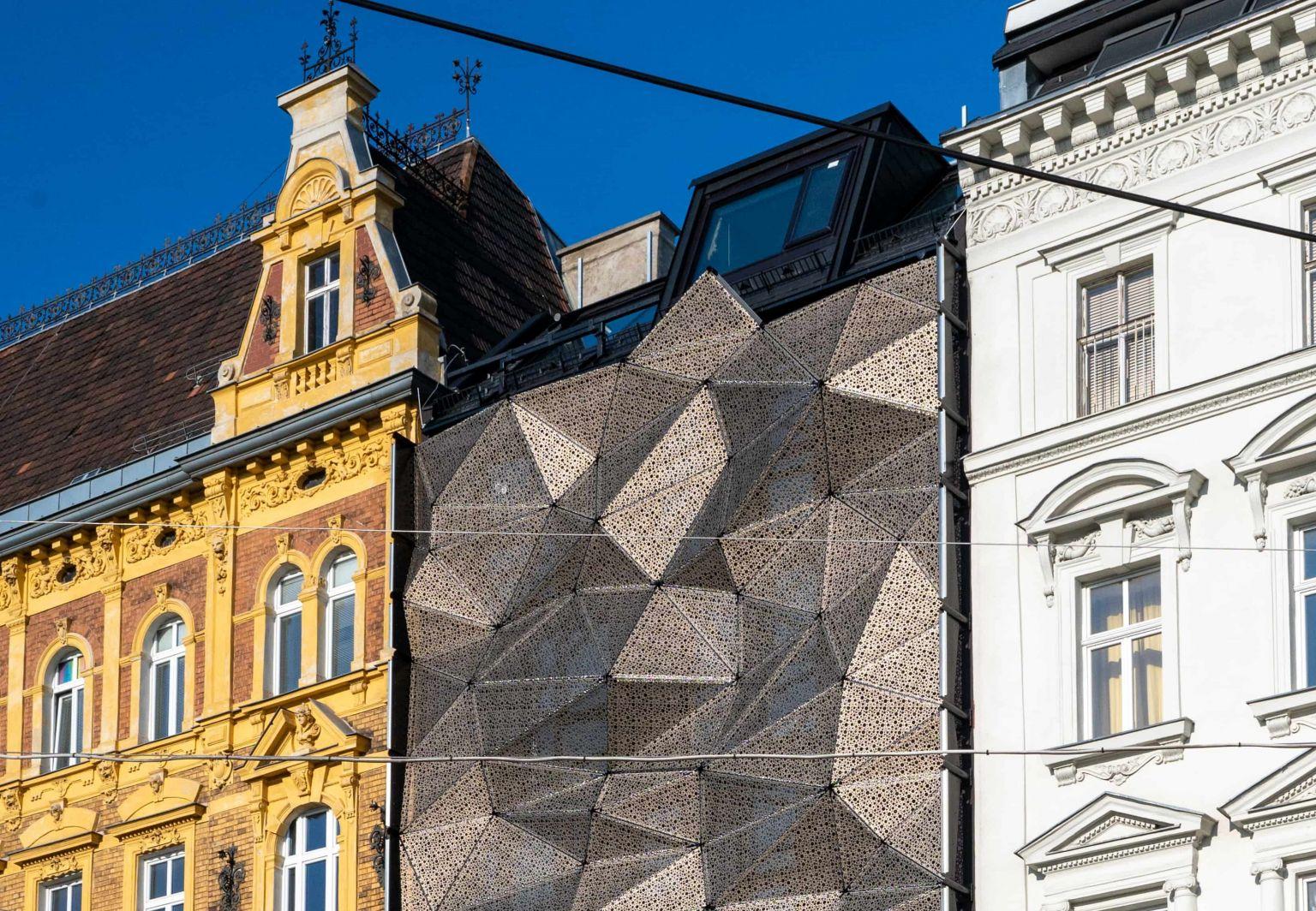 Gleichenfeier für JP-Hotel Indigo Vienna am Naschmarkt