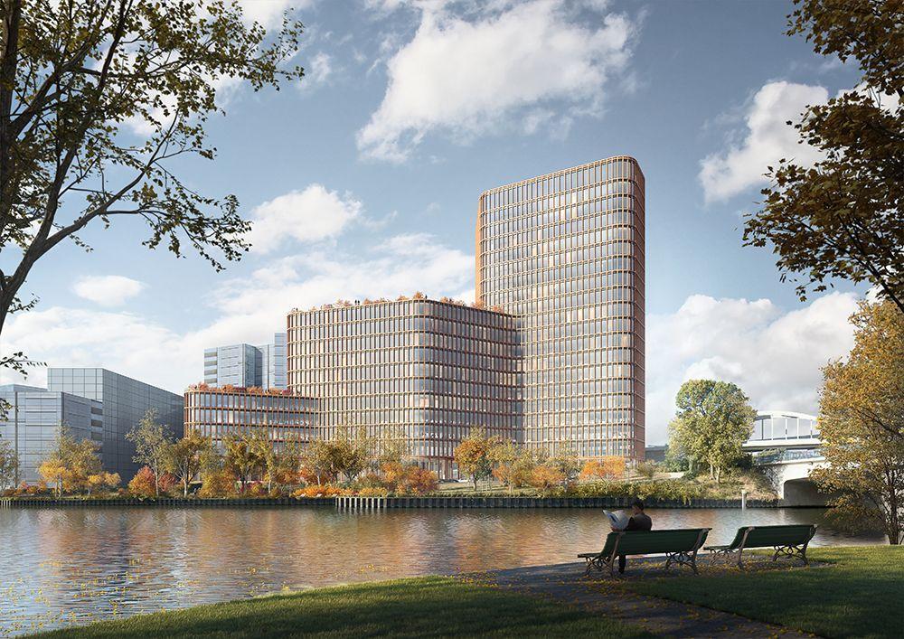 CA Immo entwickelt Bürogebäude in der Berliner Europacity