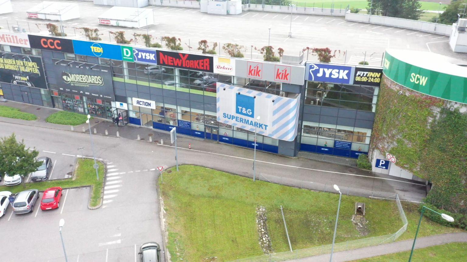 EHL vermietet Einzelhandelsfläche in der Shopping City Wels
