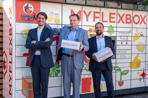 MYFLEXBOX erweitert Netzwerk