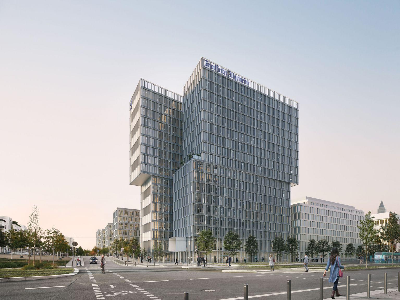 UBM und Paulus feiern Richtfest von F.A.Z. Tower in Frankfurt
