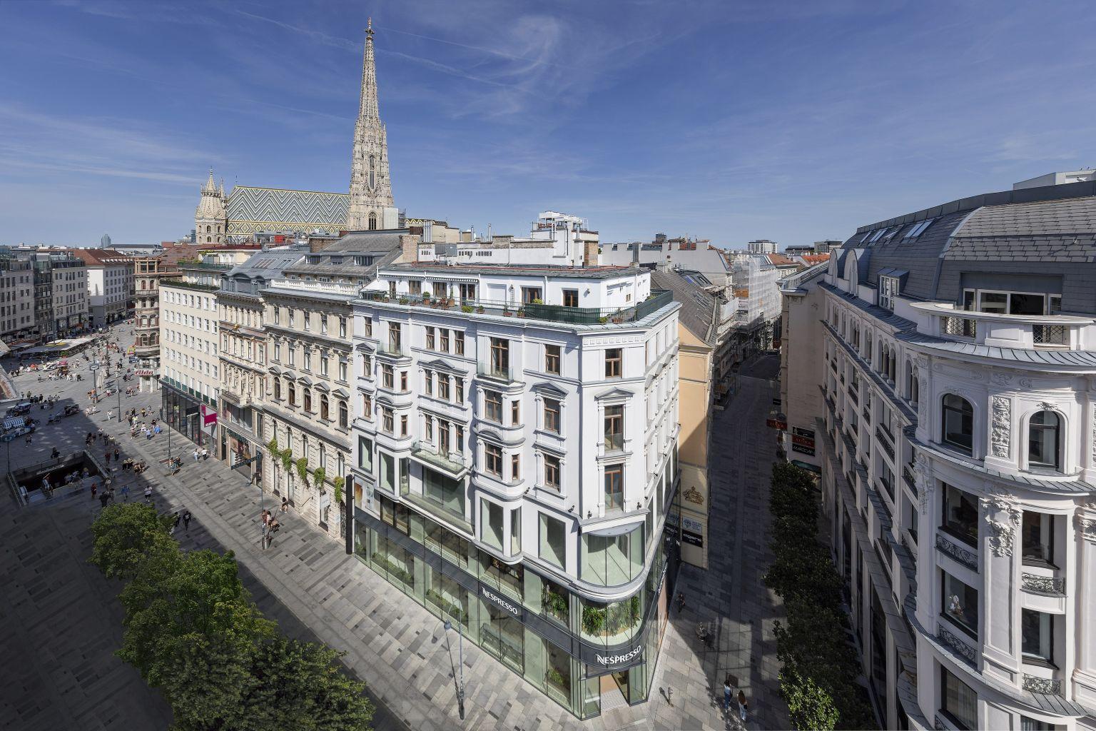 Hines vermietet an Marc O'Polo in Wien