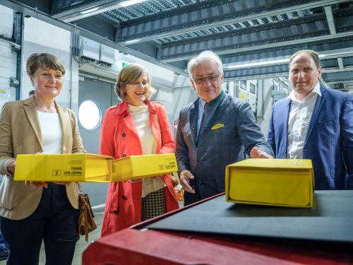 Post baute Logistikzentrum in Vorarlberg aus