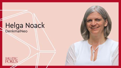 Helga Noack ist DenkMalNeo-Geschäftsführerin