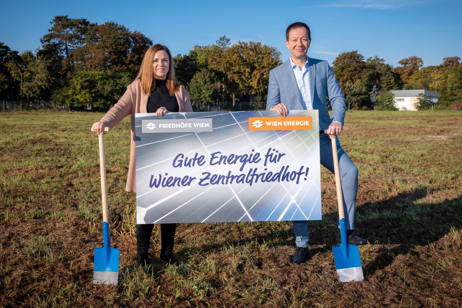 Gute Energie für Wiener Zentralfriedhof
