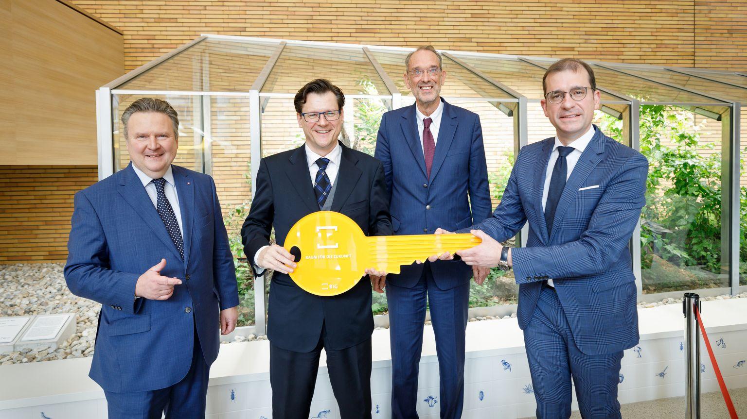 Eröffnungsfeier für das neue Biologiezentrum der Uni Wien