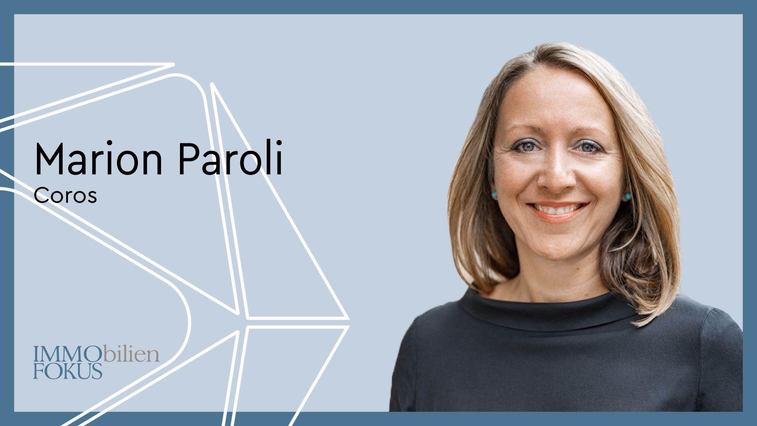 Marion Paroli wechselt zu Coros